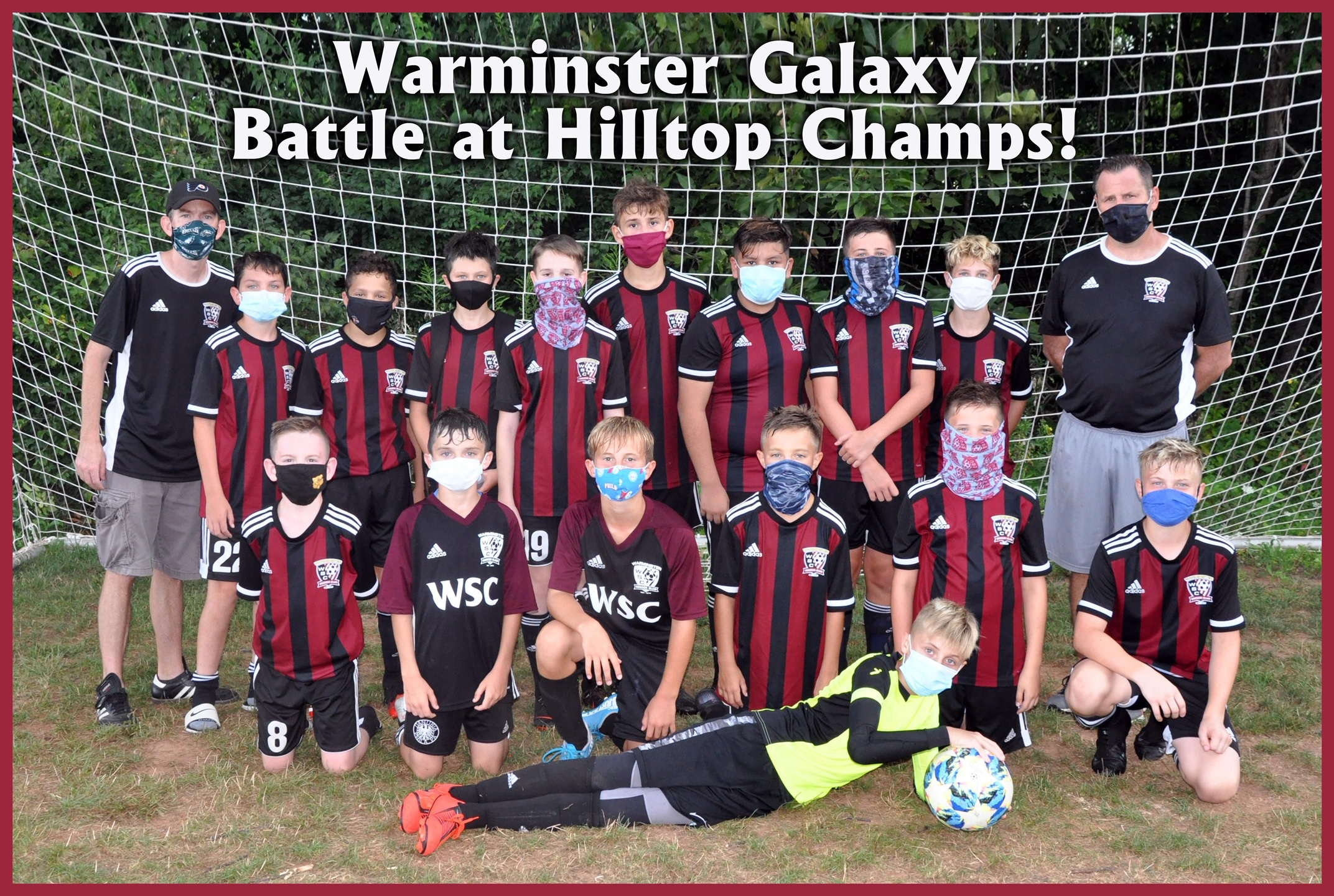 Congratulations WSC Galaxy 2008 Boys – Undefeated Champions – 2020 Battle at Hilltop Tournament